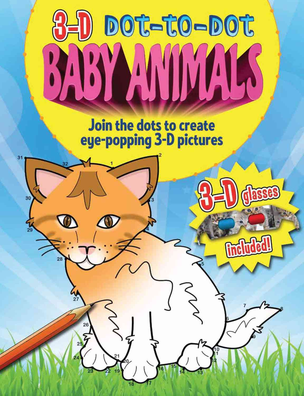 3D Dot-to-Dot Baby Animals By Arcturus Publishing (COR)